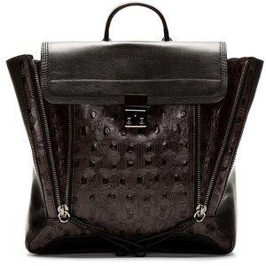 💯3.1 Phillip Lim Black Pashli Backpack